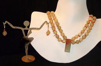 Photo: <BEREHYNYA> {Great Goddess Protectress} unique one-of-a-kind statement jewellery by Luba Bilash ART & ADORNMENT  SOLD/ПРОДАНИЙ