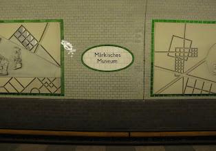Photo: Märkisches Museum U-bahn