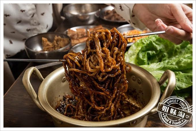 槿韓食堂炸醬麵