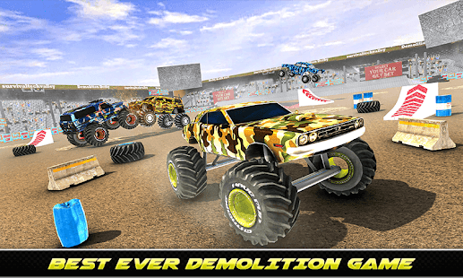 Army Monster Truck Demolition : Derby Games 2020 for PC-Windows 7,8,10 and Mac apk screenshot 4
