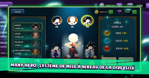 Télécharger Battle Stick Dragon: Tournament Legend mod apk screenshots 4