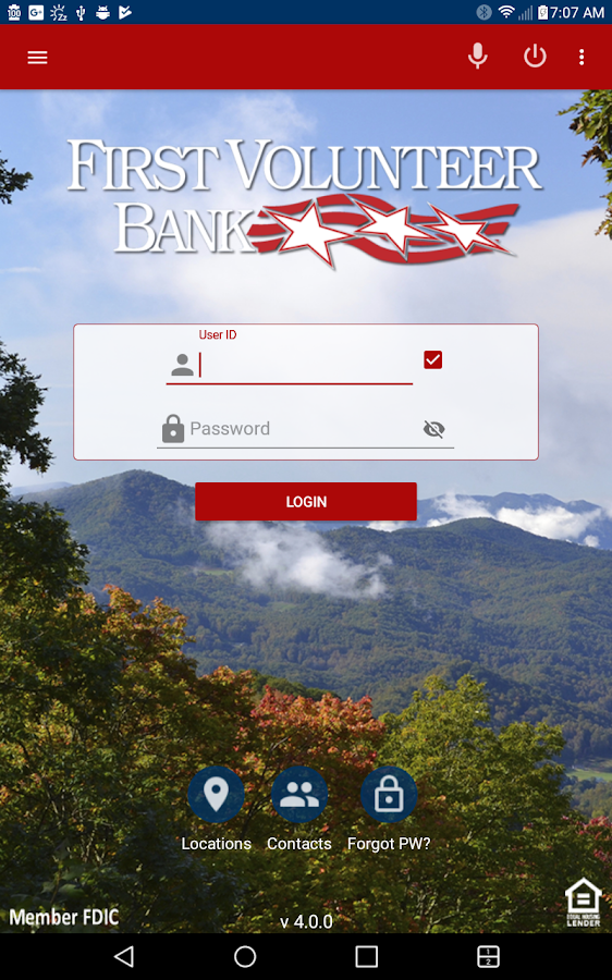 FVB Mobile Banking- screenshot