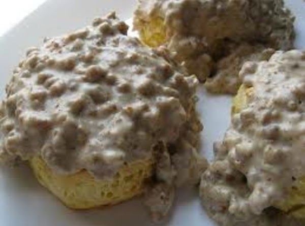 Sausage Gravy Over Biscuits Recipe