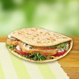Chicken Carver Foldit® Flatbread Sandwich.