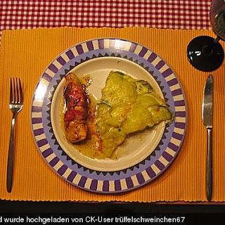 HäHnchenbrust in Rosmarin-Bacon Mit Zucchini-Kartoffel-Tortilla Recipe