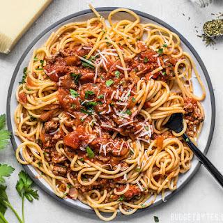The Best Weeknight Pasta Sauce.
