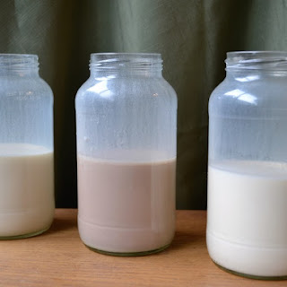Three Varieties of Homemade Coffee Creamer.