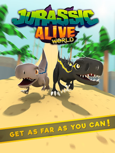 Jurassic Alive: World T-Rex Dinosaur Game screenshot 5