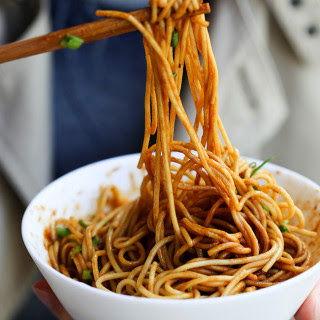 Hot and Dry Noodles–Wuhan Noodles.