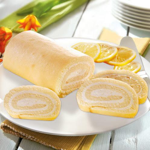 Abbildung Zitronen-Biskuitrolle