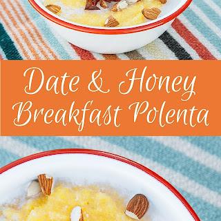 Date and Desert Honey Breakfast Polenta