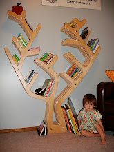 Photo: Tree Bookcase with Books