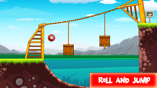 Code Triche Red Hero 3 - Roll and Jump Ball save Lover mod apk screenshots 3