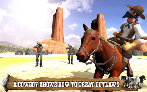 Cowboy Horse Riding Simulation  screenshots 1