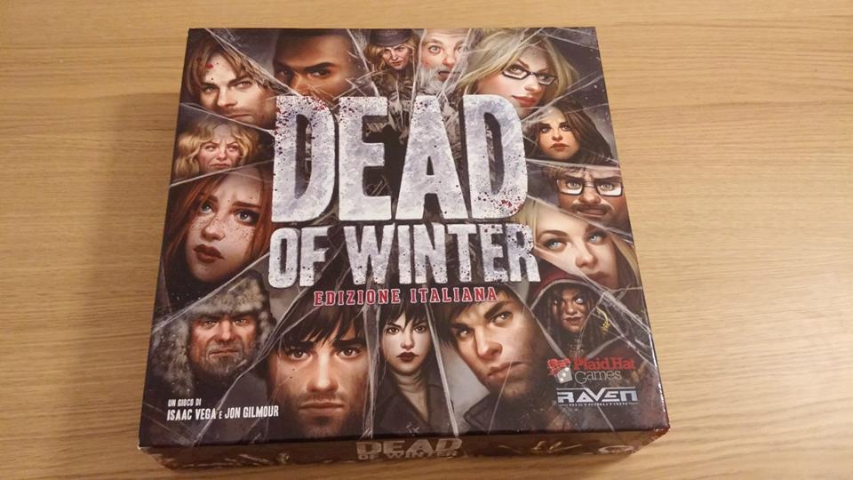 La scatola dell'edizione italiana di Dead of Winter