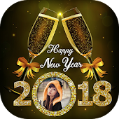 Happy New Year Photo Frame - New Year Photo Editor