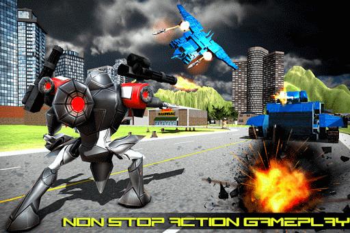 Transform Robot Action Game filehippodl screenshot 6