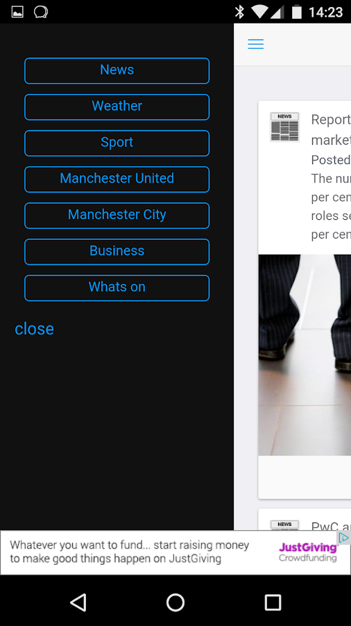 Manchester Local News- screenshot