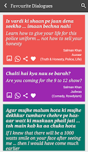Salman Khan Filmy Latest 12K+ Dialogues - náhled