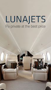 LunaJets Private Jets Charter- screenshot thumbnail