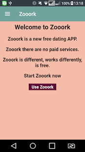 Dating APP Zooork - free- screenshot thumbnail