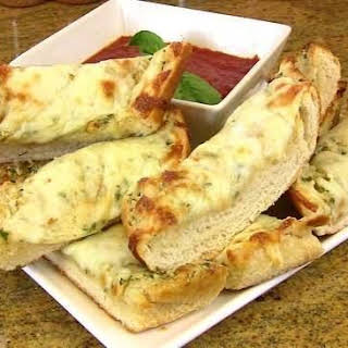 Cheesy Double Garlic Bread.