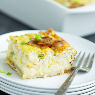 Bacon, Egg and Hashbrown Biscuit Bake