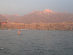 Photo: Evening fishing on the Madison River in Montana