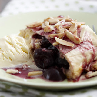 Cherry Cheese Strudel
