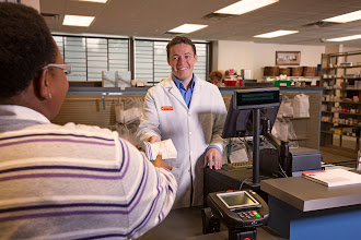 Photo: Come meet our friendly pharmacist.