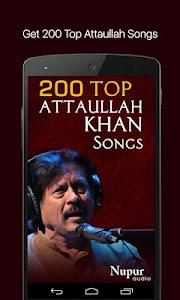 200 Top Attaullah Khan Songs screenshot 0