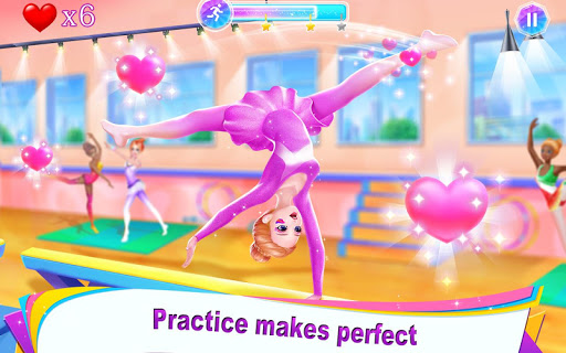 Gymnastics Queen - Go for the Olympic Champion!
