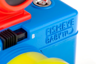 Photo: A pop of color is all you need to add excitement to your 110 photography! The Fisheye Baby 110 Bauhaus Edition is dressed in primary colors, ready to attract attention wherever you go. Packed with features such as a 170-degree Fisheye lens, multiple and long exposure capabilities and a PC flash connector, this small snap-shooter promises to be your ultimate snap-shooting companion! Get it on Lomography.com - http://tinyurl.com/cuwtzpf