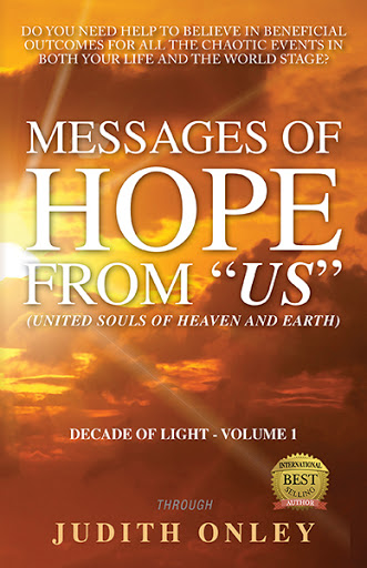 "Messages of HOPE from ""US"" (United Souls of Heaven and Earth) cover"