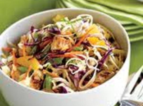 Asian Chicken Slaw Recipe