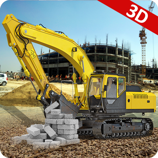 Excavator 3D Construction Game
