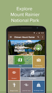 Mount Rainier NP by Chimani- screenshot thumbnail