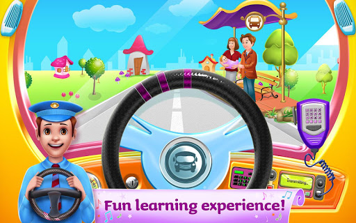 The Wheels on the Bus - Learning Songs & Puzzles 1.0.8 screenshots 7