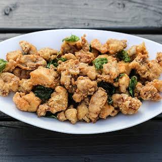 Taiwanese Salt and Pepper Chicken (Yan Su Ji).