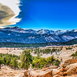 morning splender by Bruce Newman - Landscapes Mountains & Hills ( dramatic sky, nature, dramatic, winter, landscape,  )