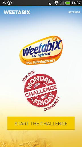 Weetabix: Mon To Fri Challenge