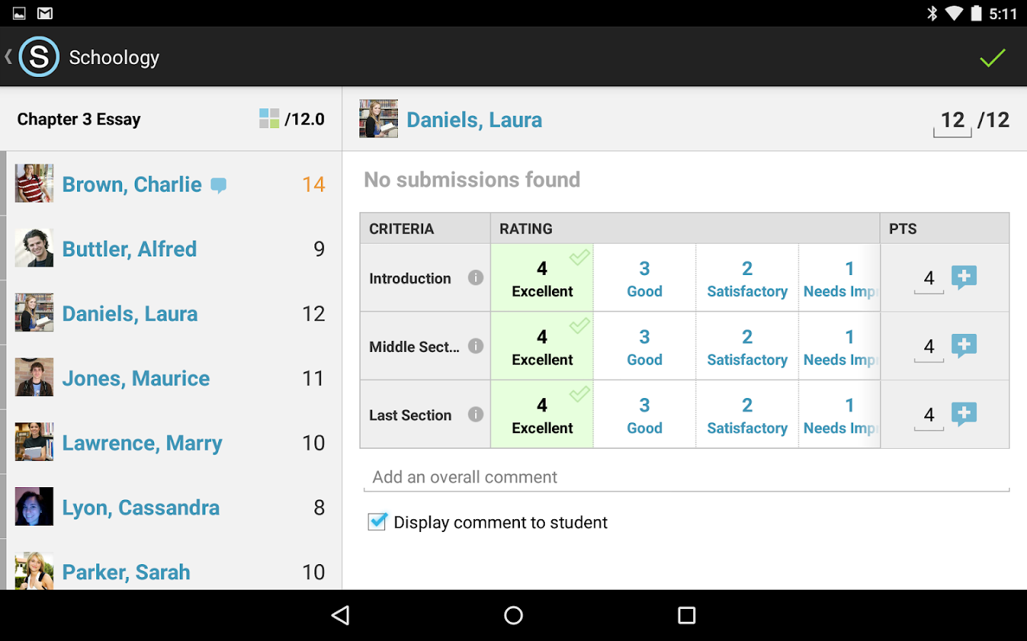 Schoology- screenshot