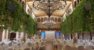 Casa Rafael cuenta con amplios salones muy elegantes para celebraciones.