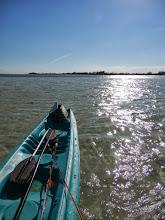 Photo: Kayak on Andros looking for La Playa....solito- Fall 2011