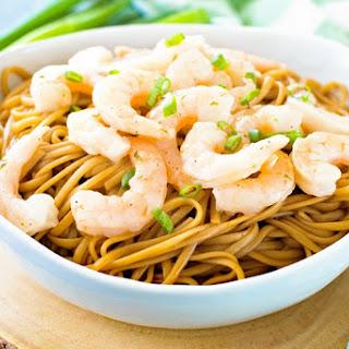 Asian Shrimp Scampi.