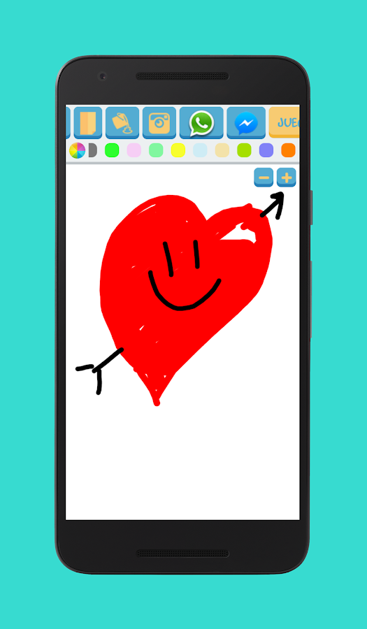 Paint for Whatsapp & Messenger- screenshot