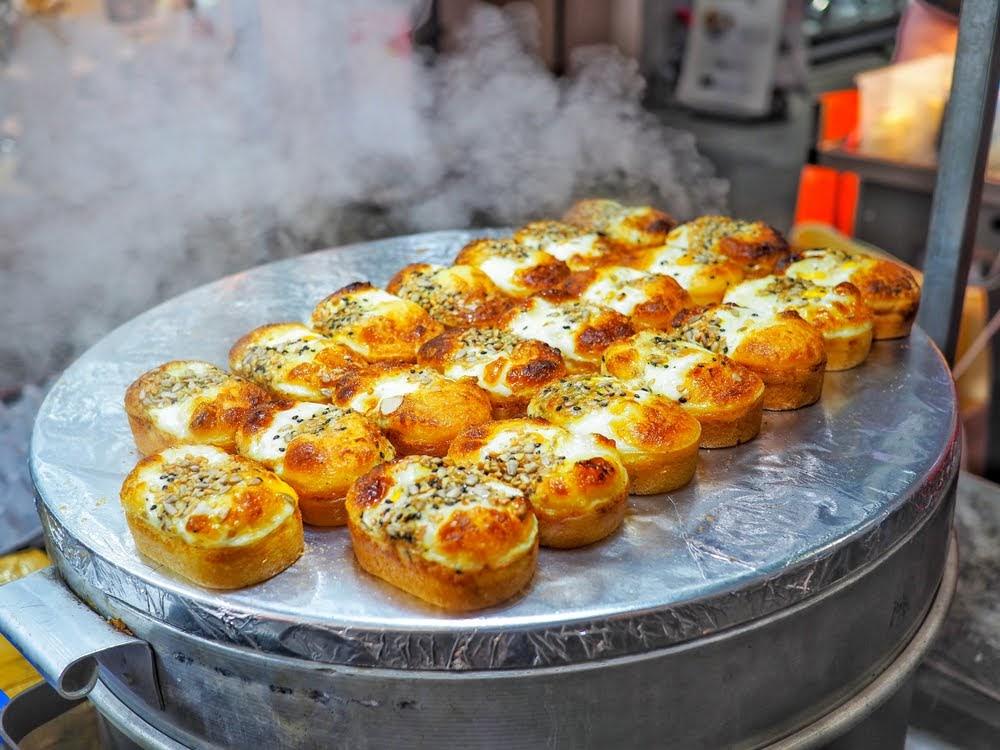 comida callejera corea