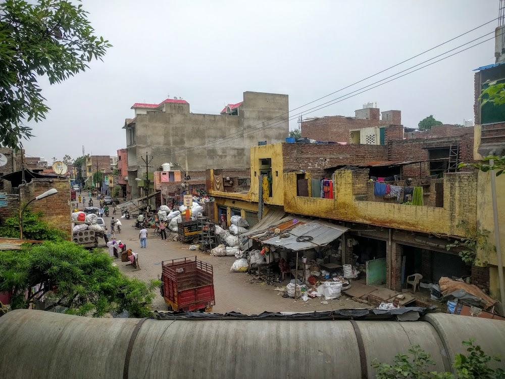 The non-touristy part of Agra