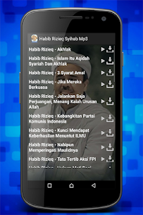 Habib Rizieq Syihab Mp3 - náhled