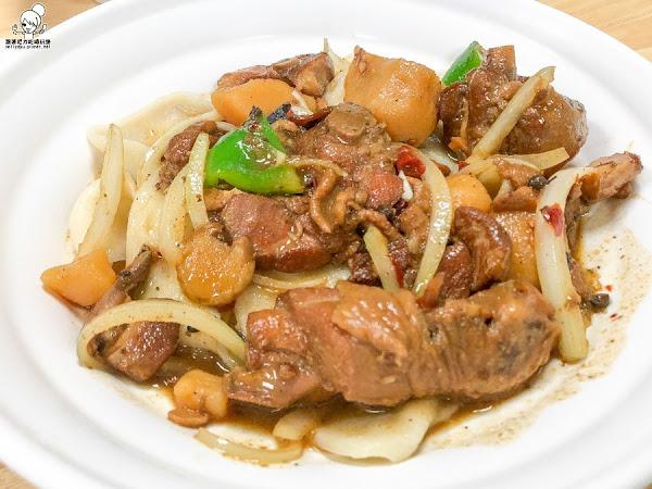 獨特好吃層次風味之品新疆手工拉麵,超寬大皮帶麵、手抓飯